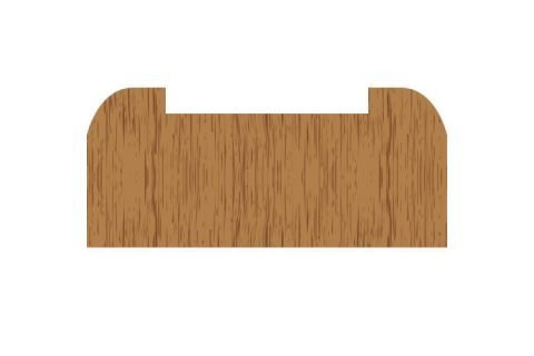 Cut to size Timber Baserail