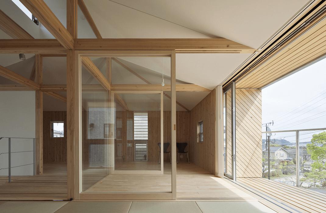 Wood in interior design