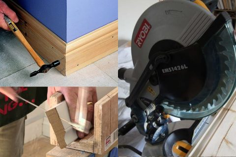 DIY installation for Wooden skirting boards