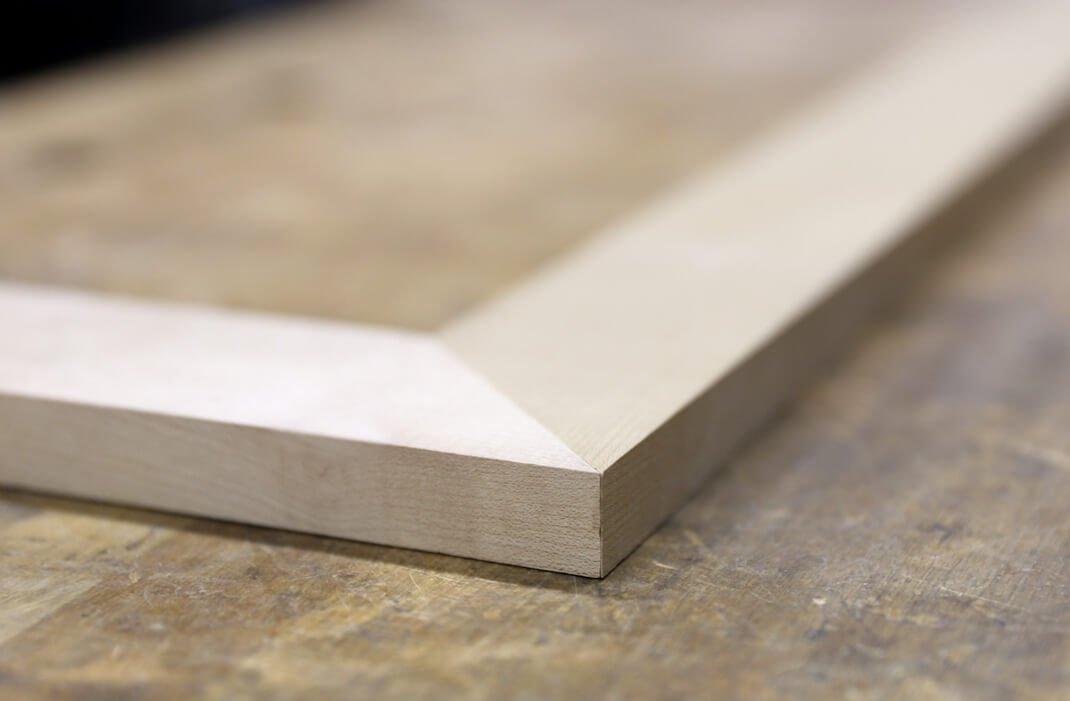 Timber Bevel Cut