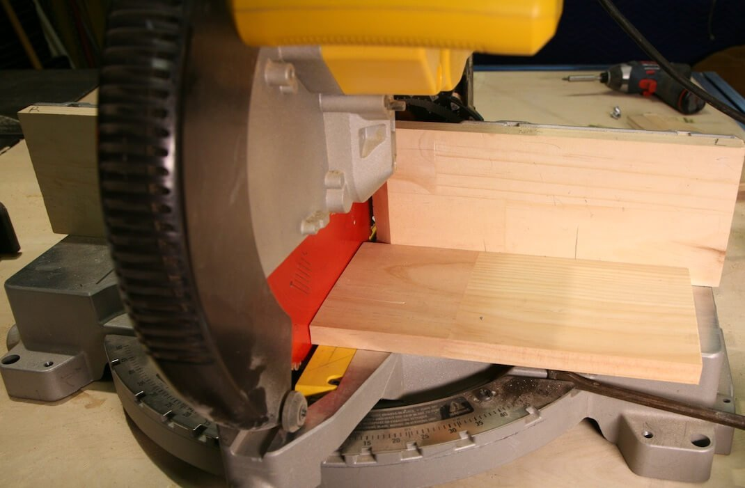 Door Display Shelf from cut to size timber