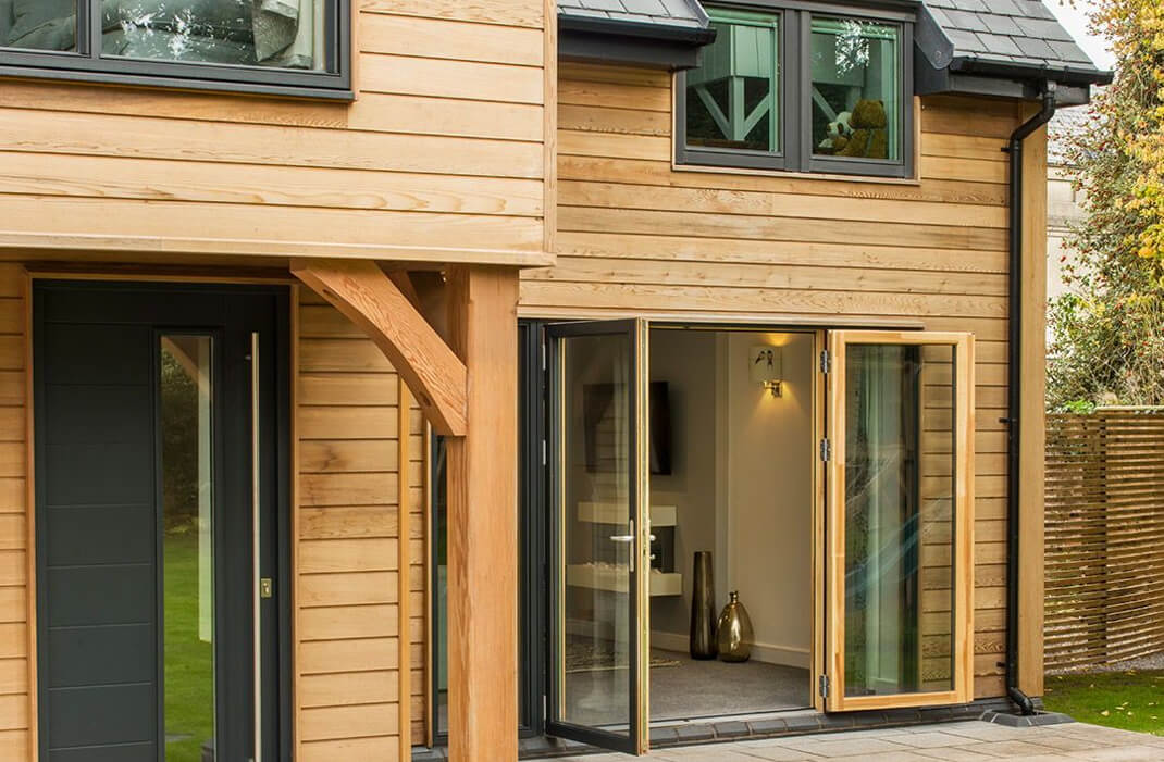 Timber Cladded House