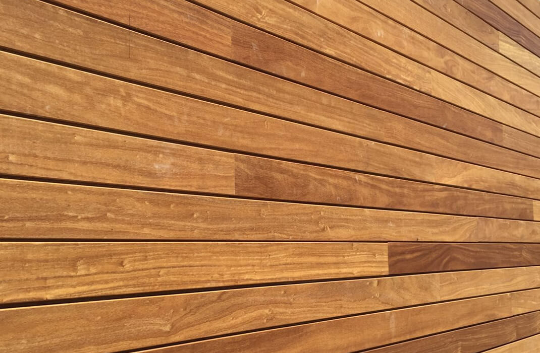 Cut to size Iroko Wood for Cladding