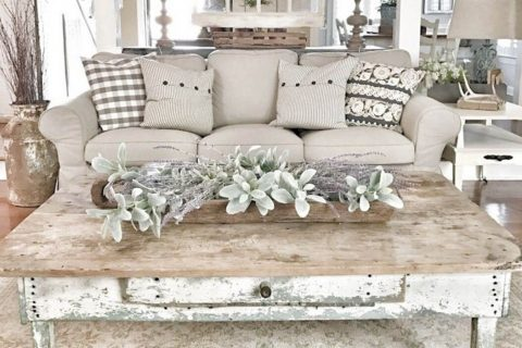 shabby chic wooden skirting boards