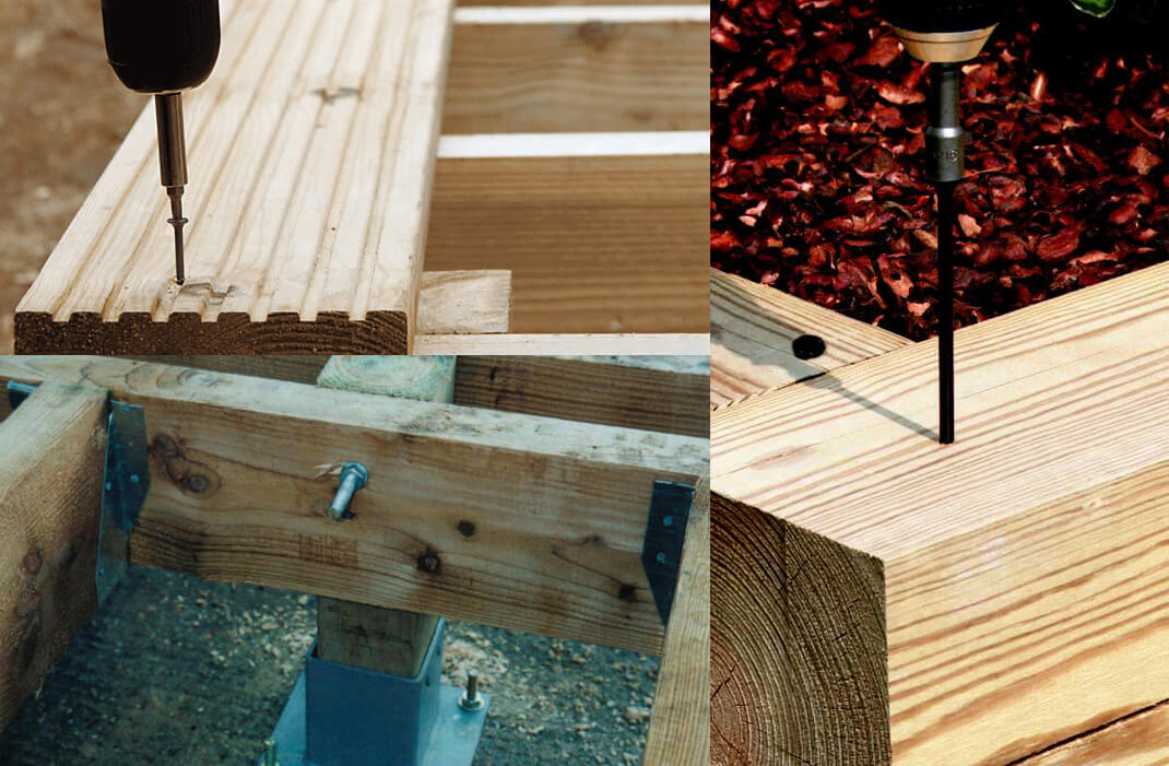 Made to measure deck